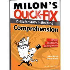 MILON'S QUICK-FIX DRILLS FOR SKILLS IN READING COMPREHENSION